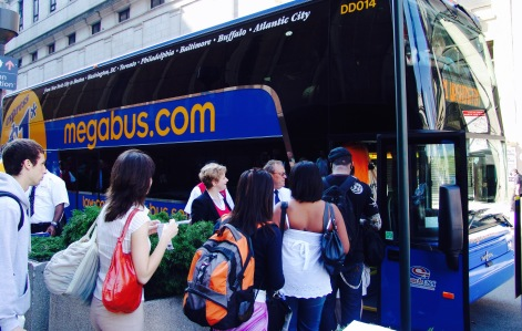 Photo from Megabus Website Image Gallery