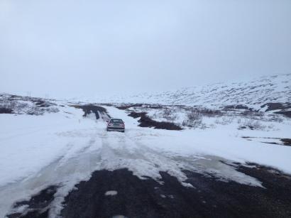 Stuck on Ring Road near Egilsstaðir